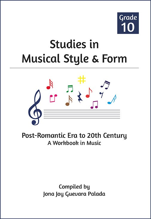 BOOK – Studies in Musical Style & Form